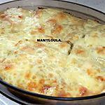 recette Gratin de saumon aux brocolis