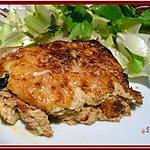 recette Clafoutis de thon aux poivrons de Kekeli
