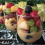 recette Salade de fruits crémeuse
