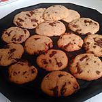 recette Cookies pépites de chocolat