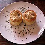 recette Bouchées au foies de volaille