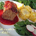 recette Pain de viande de poulet et aux aromates