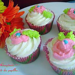 cupcakes : recette ~Cupcakes à la vanille~