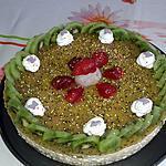 recette Bavarois fruit exotique et son miroir kiwi
