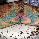 recette Gâteau au yaourt arc-en-ciel