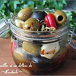 recette Olives marinées au citron et à l'ail