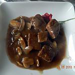 recette Sauté de porc sauce coca cola