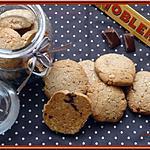 recette Cookies au Toblerone et Amandes
