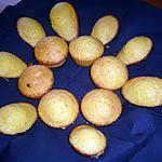 recette Madeleines miel/ananas