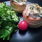 recette Bouchée poulet & fromage frais