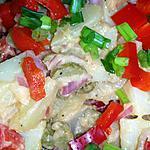 recette Salade de pommes de terre