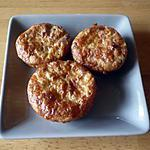 recette Muffins salés cantal/St nectaire/bacon