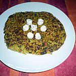 recette Paillasson au tartare ail et fines herbes