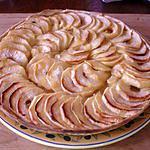 recette Tarte aux pommes (avec 3 ingredients)