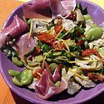 recette Salade de fèves et coeurs d'artichauts