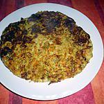 recette Rapés Ps de terre/carottes/courgettes