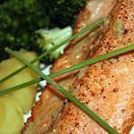 recette Filet de truite saumonée et sa sauce au vin blanc