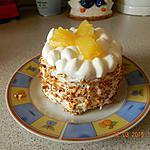 recette Génoises ananas chantilly