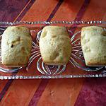 recette Petits cakes mangues/ananas