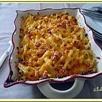 recette Gratins de macaronis au cheddar