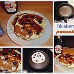recette Blueberry pancakes