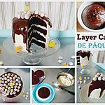 recette Layer Cake de Pâques