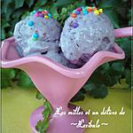 recette Crème glacée aux mûres et au citron