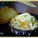 recette Tartare d'ananas et son sorbet