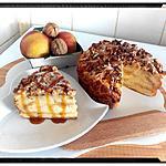 recette charlotte aux pommes vanille caramélisées et noix façon pudding