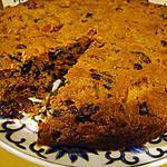 recette Cake anglais aux raisins, abricots et canneberges (cranberries)