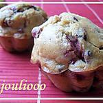 recette Muffins Nutella Framboises Crumble de Julia