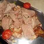 recette Gigot d agneau roti aux haricots soissons