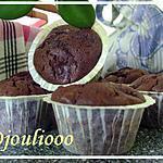 recette Muffins Choco-banane!!!