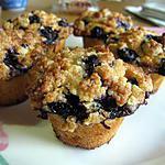 recette Muffins au yaourt et à la myrtille