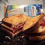 recette double croque jambon-tomate