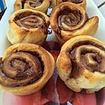 recette tourbillons nutella-cannelle