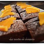 recette moelleux chocolat-orange