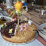 recette Gâteau moka de Pâques