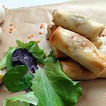 recette Cigare végétarien aux lentilles corail