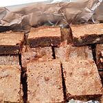 recette BROWNIES chocolat noix