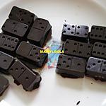 recette Pralines coco/caramel beurre salé et coco/crém de citron