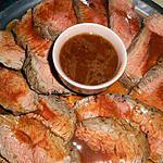 recette Roti de boeuf a l ail et au thym