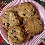 recette Les Cookies Au Pépites de chocolat de Edwige