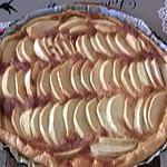 recette tarte à la cassonade et aux pommes