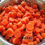 recette Congélation carottes