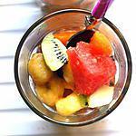 recette Salade de fruits al Maraschino