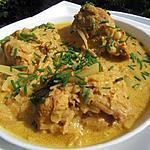 recette Curry de filets mignons au cidre