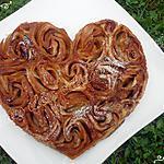 recette Tarte de roses à la pomme