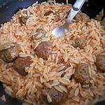 recette Risettis sauce tomate aux boulettes de sardine