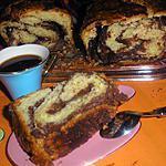 recette Babka au chocolat (brioche de Pâques polonaise)